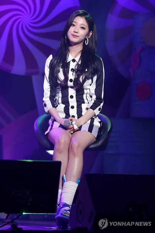 This undated file photo is of Ye-in of Girl group Lovelyz. (Yonhap)