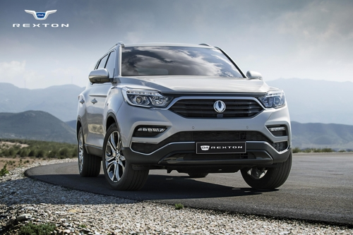 SsangYong Rexton - first official images released