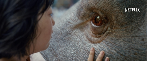 """This image provided by Neflix shows a scene from """"Okja"""" (Yonhap)"""