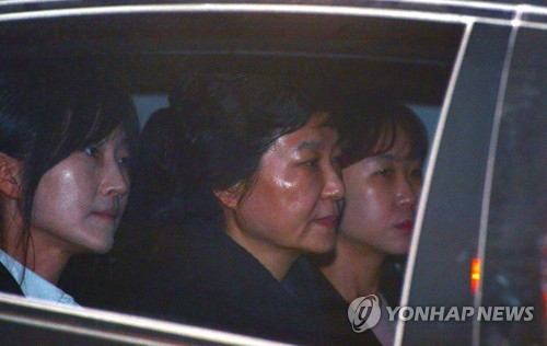 Court decides whether to arrest ousted South Korean president Park