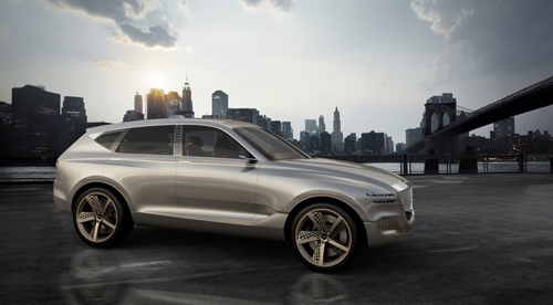 The GV80 Concept SUV (Courtesy of Hyundai Motor) (Yonhap)