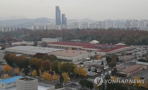 USFK base in Yongsan, central Seoul. (Yonhap file photo)