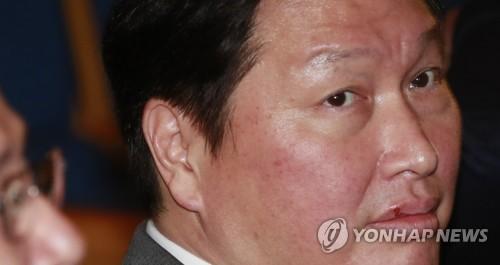 SK Group Chairman Chey Tae-won (Yonhap)