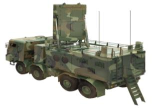 A prototype of South Korea's new counter-battery radar is shown in a photo provided by the Defense Acquisition Program Administration. (Yonhap)