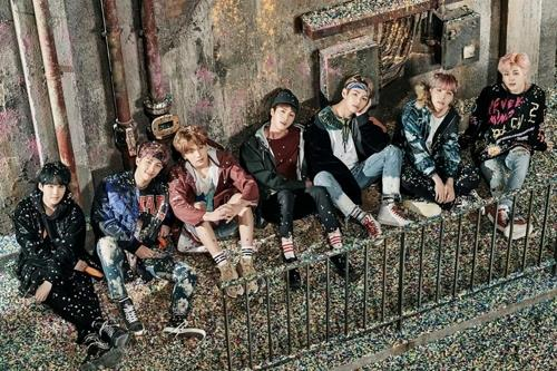 This image provided by Big Hit Entertainment shows the seven-member boy band BTS, a.k.a Bangtan Boys. (Yonhap)