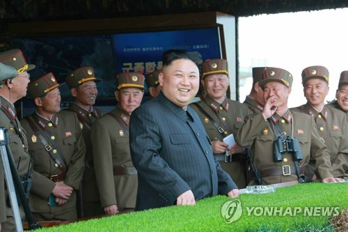 US, North Korea flex their military muscle