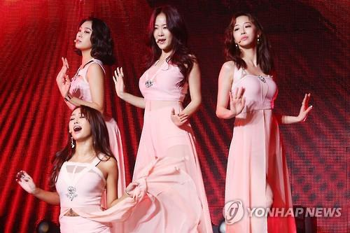 This undated file photo shows K-pop group Sistar. (Yonhap)