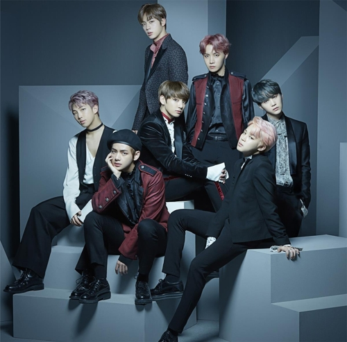 A publicity photo of South Korea boy band BTS, provided by Big Hit Entertainment. (Yonhap)