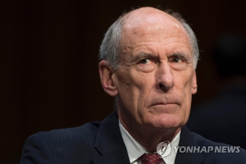 Director of National Intelligence Daniel Coats (AFP-Yonhap)