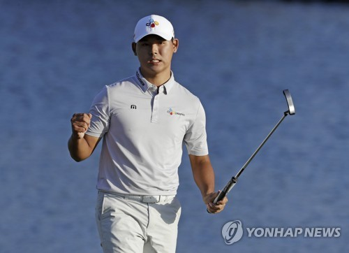 South Korean rising star Kim wins Players title