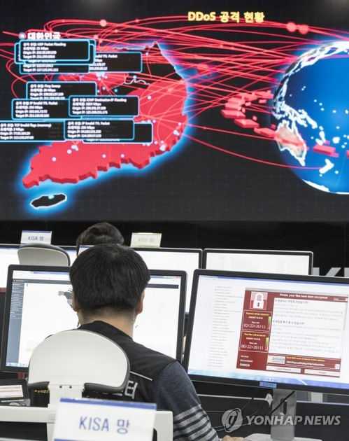 Experts see possible North Korea links to global cyberattack