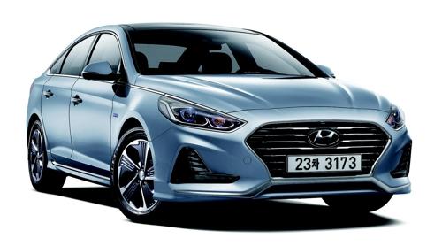 Hyundai's Sonata New Rise Hybrid (Courtesy of Hyundai Motor) (Yonhap)