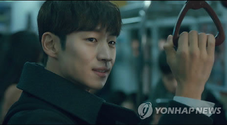 """A still image captured from tvN's """"Tomorrow With You,"""" which ended with poor ratings in late March. (Yonhap)"""