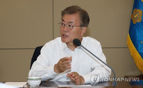 Moon sends aide to US for talks on anti-missile system