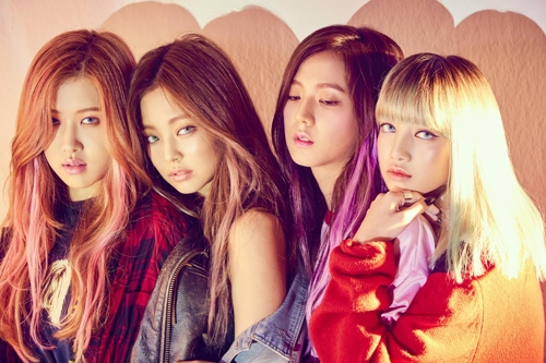 A publicity photo of BLACKPINK provided by YG Entertainment. (Yonhap)