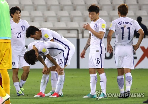 Korea Falls to Qatar in Crucial World Cup Qualifier