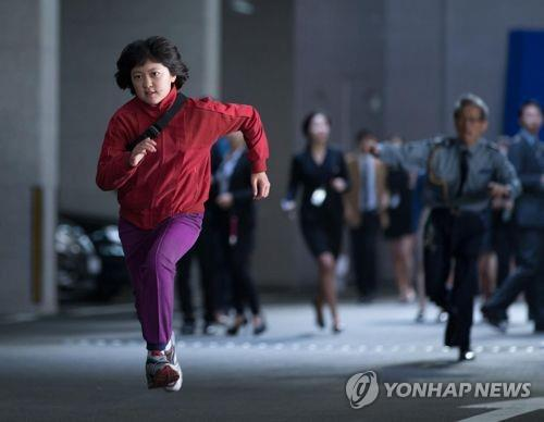 "A scene from ""Okja"" directed by Bong Joon-ho (Yonhap)"