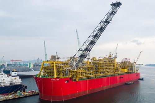 Prelude FLNG sets sail for Australia