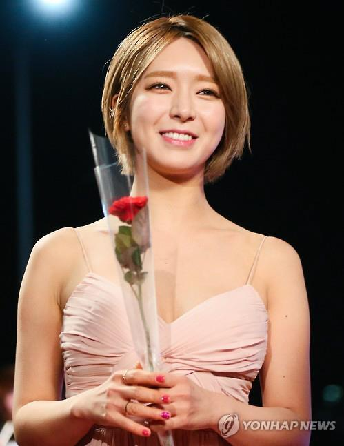 File photo of AOA's lead singer Choa (Yonhap)