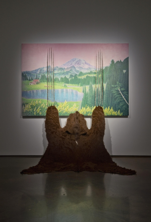 "The image provided by Arario Gallery in Seoul shows artist Jang Jong-wan's ""Please Wait Until I Have Finished."" (Yonhap)"
