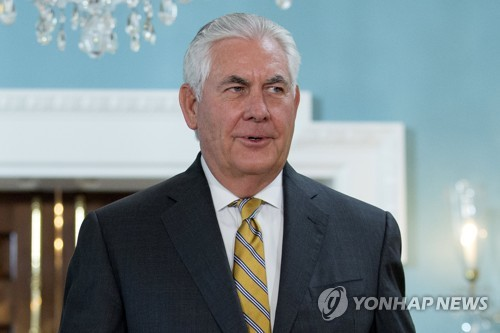 Tillerson has no plans to meet N. Korea foreign minister in Manila