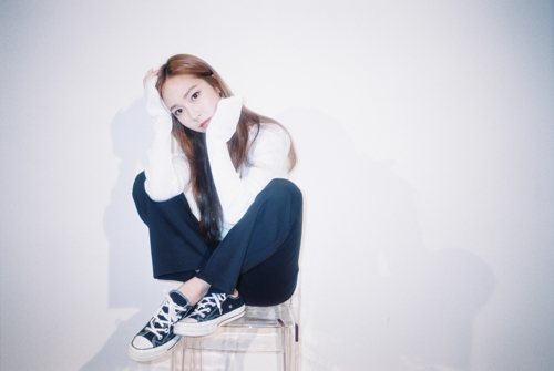 This photo released by Coridel Entertainment shows Jessica, a former member of Girls' Generation. (Yonhap)