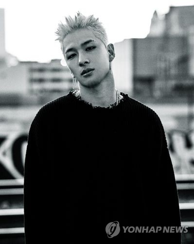 "This photo, provided by YG Entertainment, shows Taeyang of idol band BIGBANG, who released his third third full-length solo album called ""White Night"" on Aug. 16, 2017. (Yonhap)"