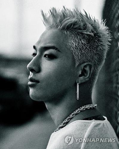 "A file photo of BIGBANG member Taeyang, who released his third full-length solo album called ""White Night,"" on Aug. 16, 2017. (Photo courtesy of YG Entertainment) (Yonhap)"