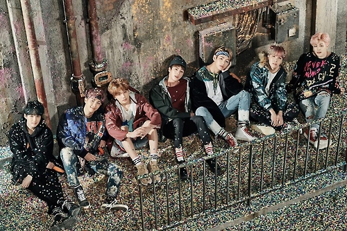 A promotional file photo of BTS provided by Big Hit Entertainment. (Yonhap)