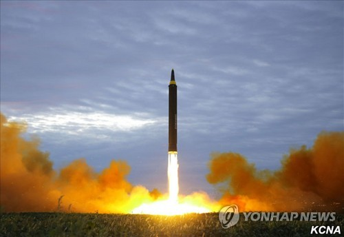 'All options are on the table' after North Korea missile test