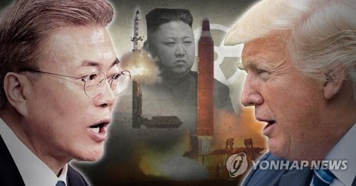 Trump to meet advisors about North Korea nuclear threat