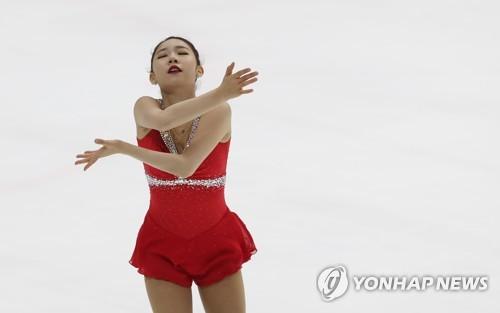 South Korean figure skater Choi Da-bin (Yonhap)