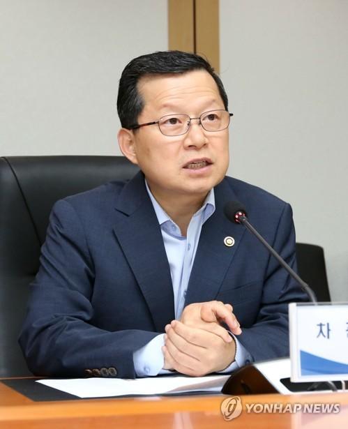 This file photo shows Vice Interior Minister Shim Bo-kyun. (Yonhap)
