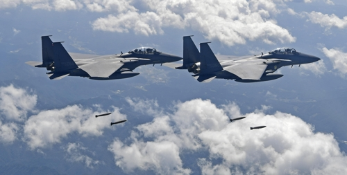 United States flies powerful warplanes amid tensions with North Korea