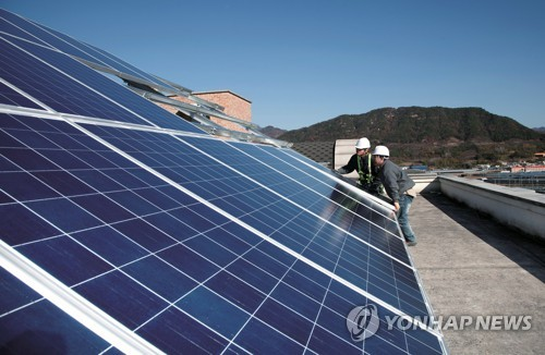 Solar energy-related stocks dip on looming U.S. import safeguard