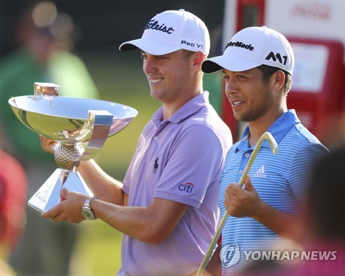 Xander Schauffele wins Tour Championship; Justin Thomas claims Fed Ex Cup title