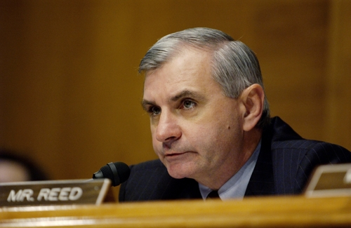 Official photo of Sen. Jack Reed. (Yonhap)