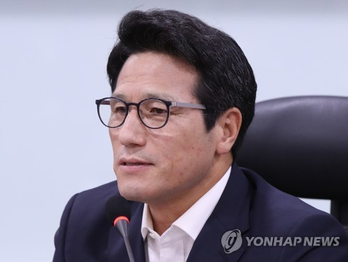 This file photo shows Rep. Choung Byoung-gug of the minor opposition Bareun Party. (Yonhap)