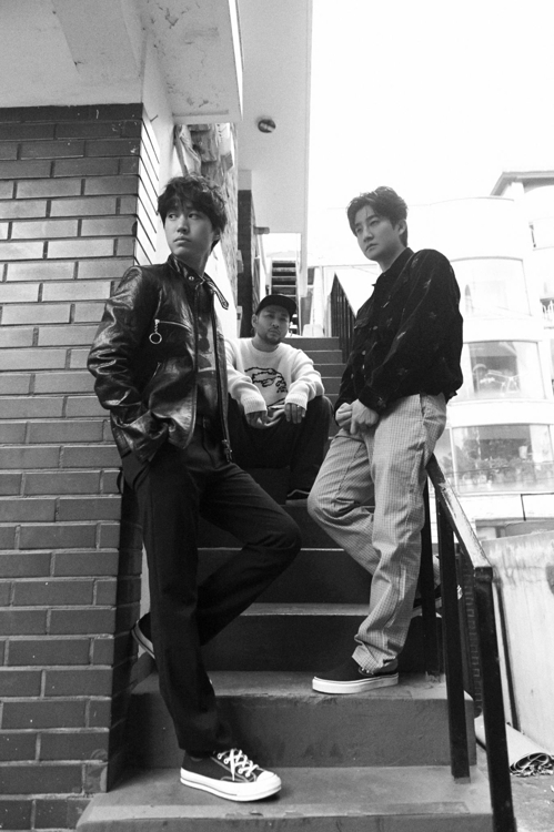 Hip-hop group Epik High poses for the camera in this photo provided by YG Entertainment (Yonhap)