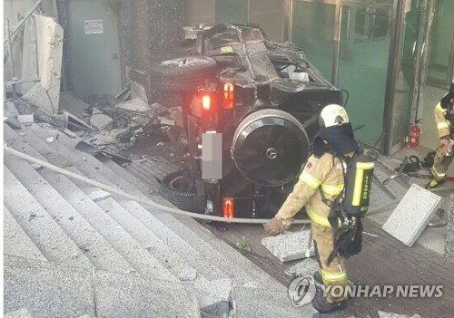 South Korean actor killed in traffic accident in Gangnam
