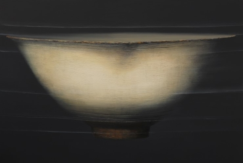 "This image provided by painter Lee Dong-su on Nov. 9, 2017, shows ""Flow-Bowl"" from 2015."
