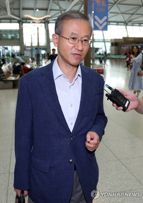 First Vice Foreign Minister Lim Sung-nam (file photo)