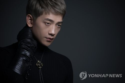 This photo provided by Rain Company shows singer-actor Rain. (Yonhap)