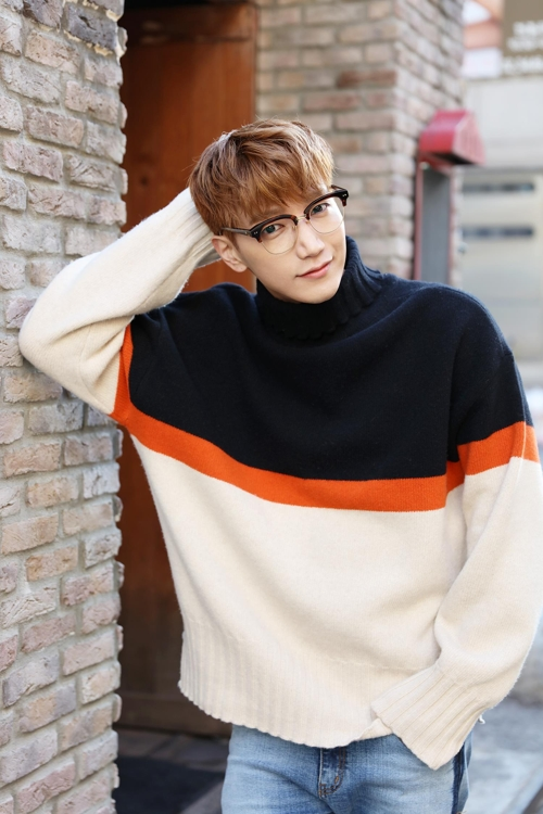 A publicity photo of 2PM member Jun. K provided by JYP Entertainment (Yonhap)