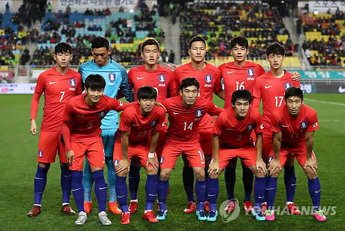 (LEAD) S. Korea drawn with Germany, Mexico, Sweden in ...