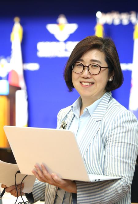 Choi Hyun-soo, new spokesperson for South Korea's defense ministry in a photo provided by the ministry (Yonhap)
