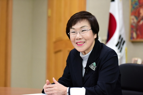 Lee Mi-kyung, president of the Korea International Cooperation Agency (Yonhap)