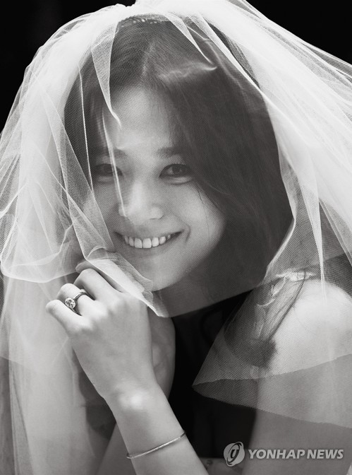 This photo provided by Blossom Entertainment shows actress Song Hye-kyo. (Yonhap)