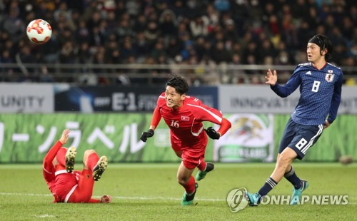 Korea's Kim doubles up in historic four-goal thrashing of Japan
