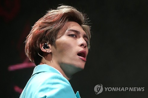 A file photo of Jonghyun, member of K-pop group SHINee, who has died on Dec. 18, 2017. (Yonhap)